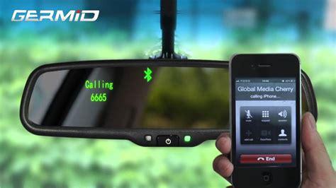 ek lab bluetooth rearview mirror monitor   camera