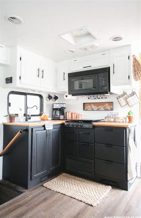 rv kitchen cabinets painted rv kitchen cabinets mountainmodernlife