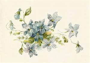 Vintage Flower Clipart - Clipart Suggest