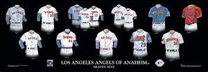Los Angeles Angels of Anaheim Uniform and Team History ...