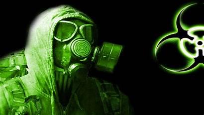 Biohazard Wallpapers Mask Cool Gas 3d Desktop