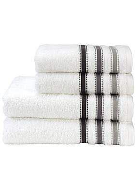 seville towels  white dream cottage   elegant