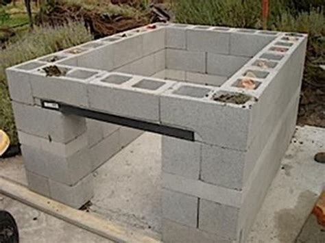 constructing kitchen cabinets how to build a cinder block bbq pit outdoor kitchen ideas 2444