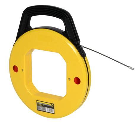 aiguille tire fil 4mm 30m sous plastique c k outillage ref 495054 outils pour