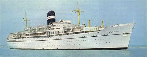 Educational Cruise Ship SS Nevasa As Many Dormitory And Cabin Passengers From 1965 To 1974 Will ...