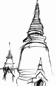 buddhist temple sketch - Google Search | SEAsia 2015 ...