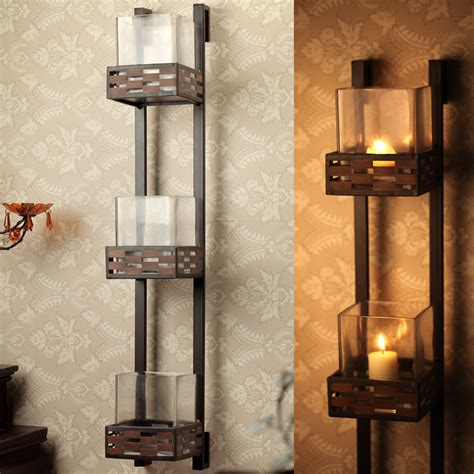 marvelous decorative wall candle holders 7 iron home