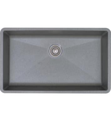 blanco silgranit single bowl sink in metallic gray blanco 440148 precis 32 quot single bowl undermount silgranit
