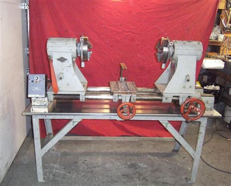 standard tool manufacturing  glassblowing lathe