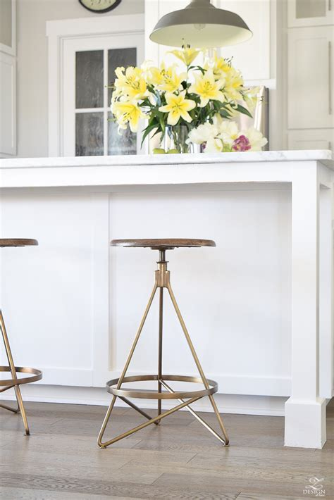 kitchen island with chairs the best modern farmhouse bar stools an update on mine