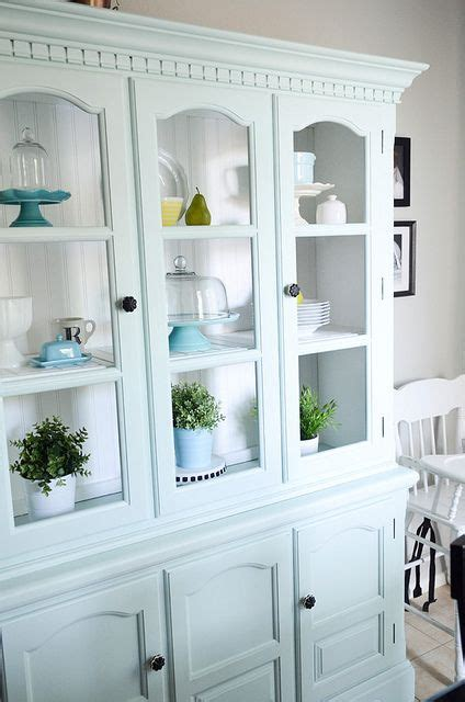 kitchen cabinets refinished hutch crafty stuff furniture painted 3197