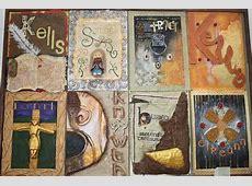 5th Year Irish Art Craft Panels St Mary's Secondary