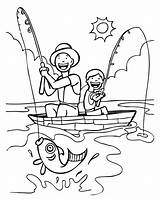 Coloring Pages Fish Happy Sheets Yahoo Fishing Funny Fathers Christmas Bd Results Books sketch template