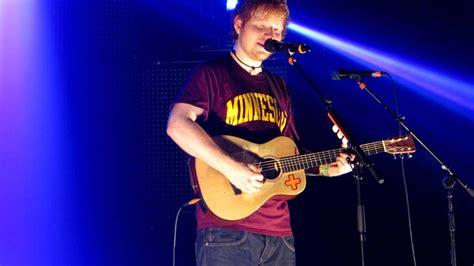 Ed Sheeran @ Koninklijk Circus