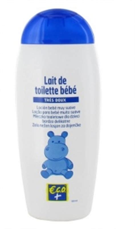 lait de toilette b 233 b 233 eco leclerc marque rep 232 re beaut 233 test