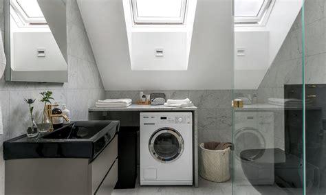 arredare un sottotetto mansarda come organizzare al meglio l angolo lavanderia in mansarda