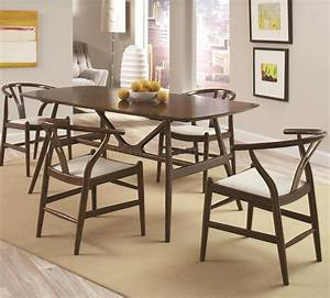102851 Kersey 5pc Dining Set In Chestnut Coaster W  Options