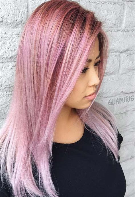 55 Lovely Pink Hair Colors Tips For Dyeing Hair Pink