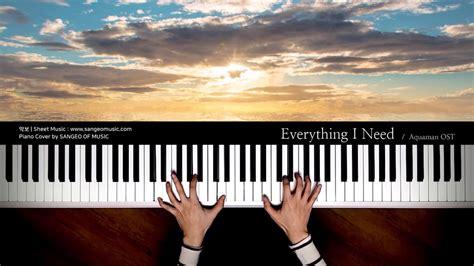 aquaman ost    piano cover