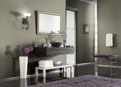 for downstairs bathroom behr paint witch hazel 780d 6