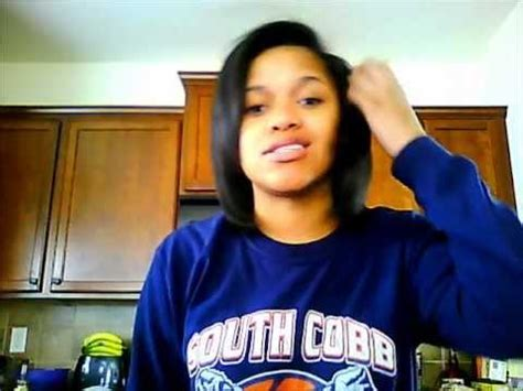4b/4c blow out on natural hair   YouTube