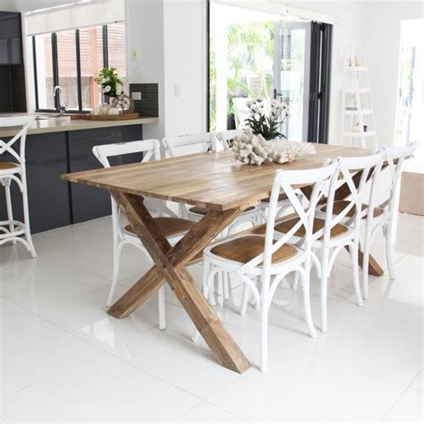 cross back chair dining room table 111 best new house dining living images on pinterest