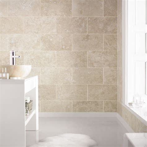 brighten up your home with lighter travertine tiles like