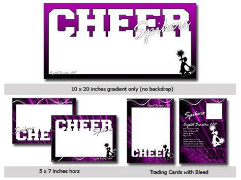 sports cheer cutouts vol  photoshop elements template