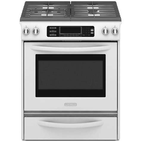 kitchenaid range kitchenaid ranges architect series ii 30 in 4 1 cu ft