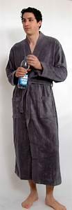 Gardinenstange Extra Lang : kimono bademantel f r sie und ihn extra lang anthrazit ~ Whattoseeinmadrid.com Haus und Dekorationen