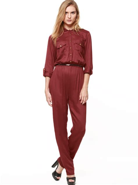 utility jumpsuit buy koovs utility jumpsuit for 39 s orange