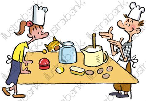 cuisiner pour bebe cuisine des enfants illustration autres libre de droit sur
