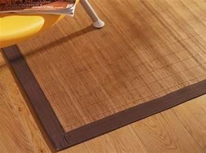 Tapis Bambou Ikea : tapis marron ikea excellent ikea karby tapis poil ras beige marron x cm with tapis marron ikea ~ Teatrodelosmanantiales.com Idées de Décoration