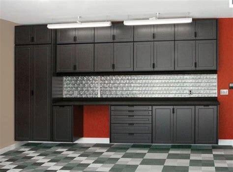red and black garage cabinets black gray and red garage garage pinterest grey