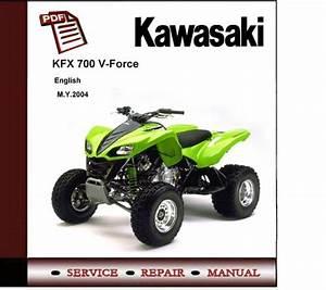 2004 Kawasaki Kfx700 Kfx700v V