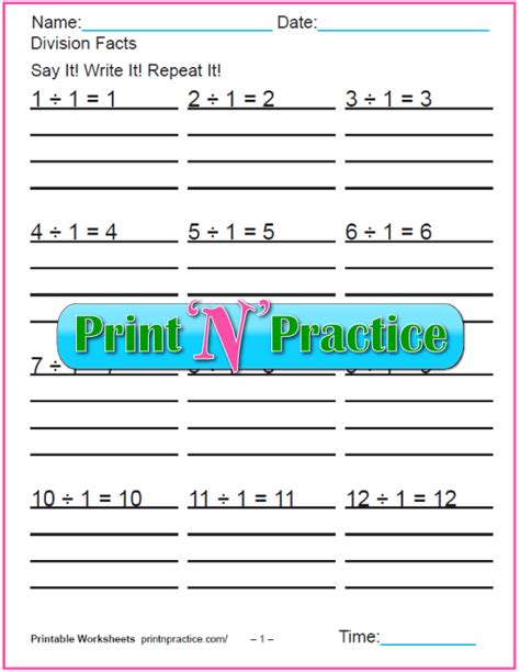 grade division worksheets customize  print