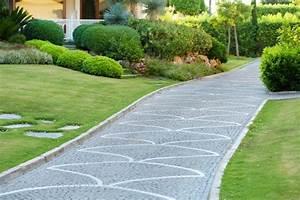 deco jardin allee exemples d39amenagements With decoration allee de jardin