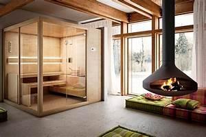 Sauna Für Badezimmer : moderne saunakabinen f r zu hause sauna saunahaus und ~ Watch28wear.com Haus und Dekorationen