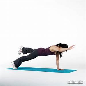 Plank Bird Dog | Exercise How-to - Skimble