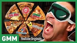 Blind Fast Food Pizza Taste Test - YouTube
