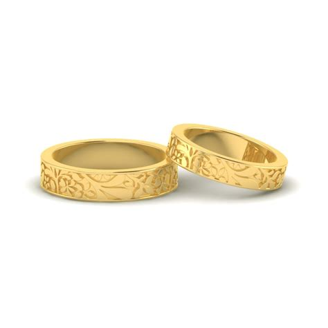 floral ring designs onlinegold flower pattern band