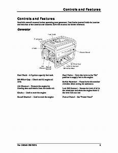 Champion 3500 4000 Generator Owners Manual