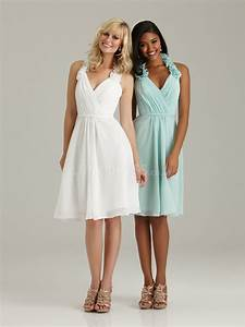 summer white and light green bridesmaid dressesCherry ...