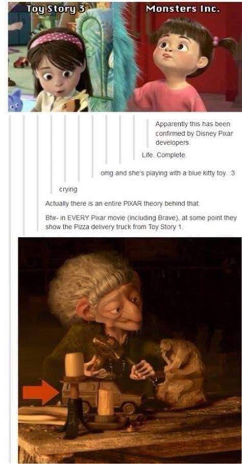 Pixar Meme - pixar continuity the pixar theory know your meme