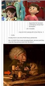 Pixar Continuity The Pixar Theory Know Your Meme