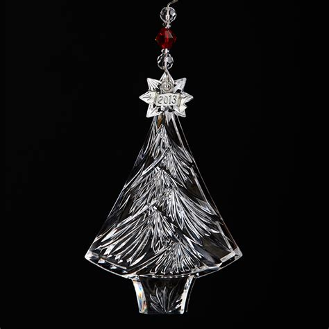 2013 waterford christmas tree ornament