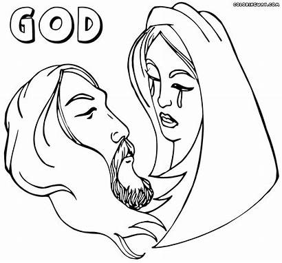 God Coloring Pages