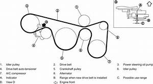 2007 Nissan Altima Serpentine Belt Diagram