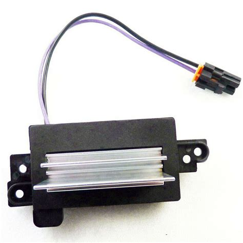 For Updated Design Blower Resistor Replaces