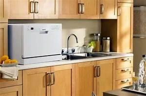 Lave Vaisselle Pose Libre Sous Plan De Travail : mini lave vaisselle le compact dans la cuisine ~ Melissatoandfro.com Idées de Décoration